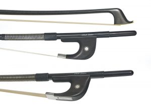 carbon fibre bass bow German pattern