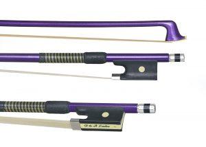 Purple violin bow